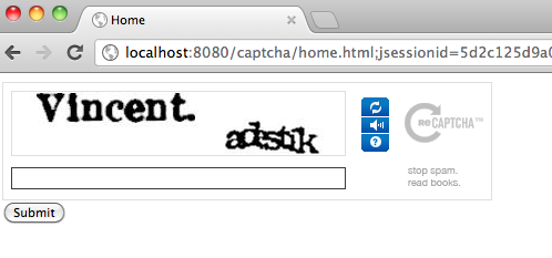 Captcha In Action