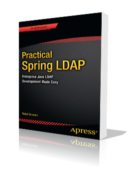 Practical Spring LDAP Book Cover